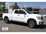 2010 Super White Toyota Tundra TRD Rock Warrior Double Cab 4x4 #50150758
