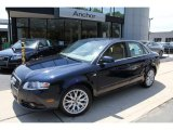 2008 Deep Sea Blue Pearl Effect Audi A4 2.0T quattro S-Line Sedan #50150967
