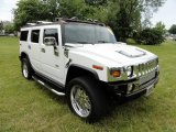 2006 Hummer H2 White