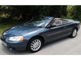 2002 Steel Blue Pearl Chrysler Sebring LX Convertible #50150994