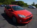 2012 Race Red Ford Focus SE Sport Sedan #50150900