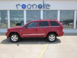 2006 Inferno Red Crystal Pearl Jeep Grand Cherokee Limited 4x4 #50150925