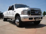 2005 Oxford White Ford F350 Super Duty Lariat Crew Cab 4x4 Dually #50151127