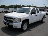 2011 Summit White Chevrolet Silverado 1500 LT Extended Cab 4x4 #50151157