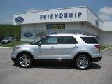 2011 Ingot Silver Metallic Ford Explorer Limited 4WD #50186266