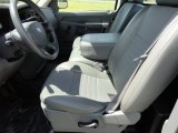 2007 Dodge Ram 1500 ST Regular Cab Medium Slate Gray Interior