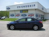 2012 Kona Blue Metallic Ford Focus SE Sport Sedan #50186278