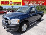 2007 Patriot Blue Pearl Dodge Ram 1500 ST Regular Cab #50186307