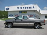 2002 Medium Charcoal Gray Metallic Chevrolet Silverado 1500 LS Extended Cab 4x4 #50186280