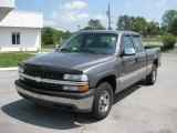 2002 Chevrolet Silverado 1500 LS Extended Cab 4x4 Front 3/4 View