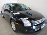2008 Dark Blue Ink Metallic Ford Fusion SE #50191503