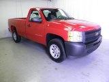 2011 Victory Red Chevrolet Silverado 1500 Regular Cab 4x4 #50191506