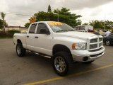 2004 Bright White Dodge Ram 1500 ST Quad Cab 4x4 #50191644