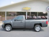 2011 Taupe Gray Metallic Chevrolet Silverado 1500 LT Regular Cab 4x4 #50191538