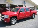 2011 Victory Red Chevrolet Silverado 1500 LT Crew Cab 4x4 #50191553