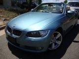 2007 Atlantic Blue Metallic BMW 3 Series 335i Convertible #50191566