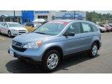 2008 Glacier Blue Metallic Honda CR-V LX #50191414