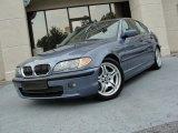 2002 Steel Blue Metallic BMW 3 Series 330i Sedan #50191324
