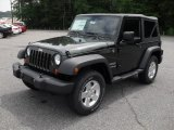 2011 Natural Green Pearl Jeep Wrangler Sport S 4x4 #50191601