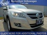 2011 White Gold Metallic Volkswagen Tiguan SE #50191685