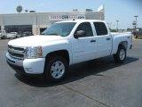 2011 Summit White Chevrolet Silverado 1500 LT Crew Cab 4x4 #50191453