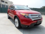 2011 Red Candy Metallic Ford Explorer XLT #50191343