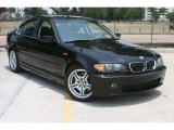 2004 Jet Black BMW 3 Series 330i Sedan #50231216