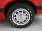 1986 Ford Mustang GT Convertible Wheel