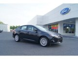 2012 Tuxedo Black Metallic Ford Focus Titanium Sedan #50230972