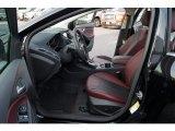 2012 Ford Focus Titanium Sedan Tuscany Red Leather Interior