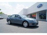 2011 Steel Blue Metallic Ford Fusion SE #50230973