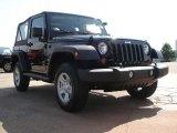 2011 Black Jeep Wrangler Sport 4x4 #50231276