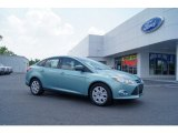 2012 Frosted Glass Metallic Ford Focus SE Sedan #50230976