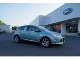 2012 Frosted Glass Metallic Ford Focus SEL 5-Door #50230977