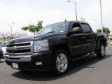 2009 Black Chevrolet Silverado 1500 LT Crew Cab 4x4 #50231470