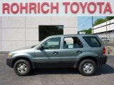 2006 Titanium Green Metallic Ford Escape XLS 4WD #50231515