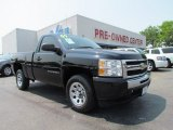 2009 Black Chevrolet Silverado 1500 LS Regular Cab #50268495