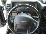 2006 Jeep Wrangler Unlimited Rubicon 4x4 Steering Wheel