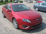 2011 Red Candy Metallic Ford Fusion SEL V6 #50268322