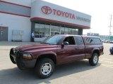 2003 Dark Garnet Red Pearl Dodge Dakota SXT Club Cab 4x4 #50268127
