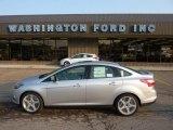 2012 Ingot Silver Metallic Ford Focus Titanium Sedan #50268329