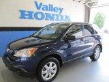 2009 Royal Blue Pearl Honda CR-V EX 4WD #50230848
