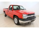 2005 Victory Red Chevrolet Silverado 1500 Regular Cab #50268537