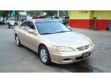 2002 Naples Gold Metallic Honda Accord EX V6 Coupe #50268365