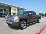 2008 Desert Brown Metallic Chevrolet Silverado 1500 LT Crew Cab #50268385