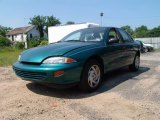 1999 Medium Green Metallic Chevrolet Cavalier LS Sedan #50268180