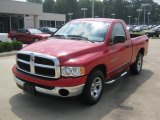 2005 Flame Red Dodge Ram 1500 ST Regular Cab #50268399