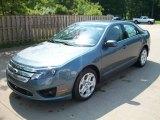 2011 Steel Blue Metallic Ford Fusion SE #50268569