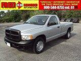 2005 Bright Silver Metallic Dodge Ram 1500 ST Regular Cab #50268576