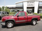 2004 Sport Red Metallic Chevrolet Silverado 1500 Z71 Regular Cab 4x4 #50268200